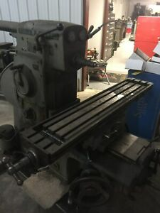 Browne Sharpe Ms Horizontal Milling Machine With Extras