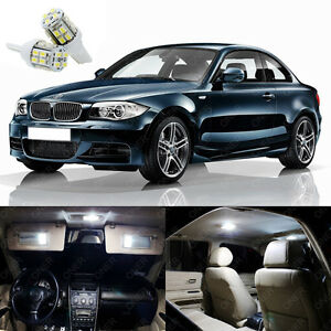 9 X Xenon White Led Interior Light Package Deal Kit For Bmw 128i 135i 2008 2013