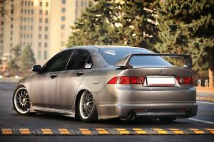 Rear Lip pad Mugen Style For Honda Accord 7 Vii Acura Tsx Cl7 2006 2008