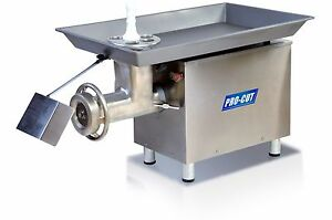 Procut Kg 32 mp Meat Grinder 3300lbs hr 3hp 220volt 1 Phase By Tor rey