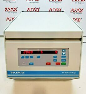 Beckman Gs 15 Benchtop Centrifuge With S4180 Swinging Bucket Rotor