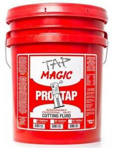 5 Gal Tap Magic Protap Formula Cutting Fluid for Drilling tapping milling