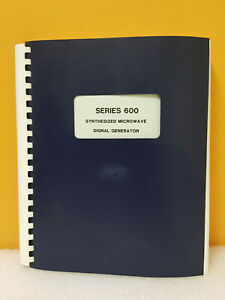 Gigatronics 304am04500 Series 600 Synthesized Signal Generator Ops Svc Manual