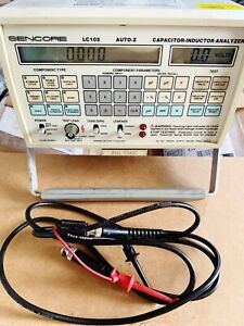 Sencore Lc102 Auto z Capacitor Inductor Analyzer With Calibration warranty