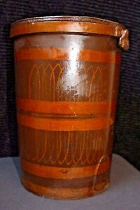 Exceptional Leather Fire Bucket In Original Condition