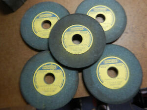 5 New Old Stock Norton 7 Surface Tool Grinding Grinder Wheels Crystolon