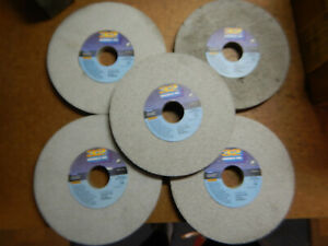5 New Old Stock Norton Aa 7 X 1 2 X 1 1 4 Surface Tool Grinding Grinder Wheels