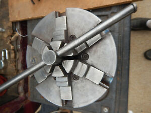 Buck Metal Lathe 12 Chuck With D1 6 Mount 6 Jaw With Key Machinist Tooling