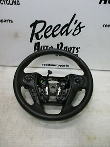 13 17 Honda Accord Black Leather Steering Wheel W Audio Talk Cruise Switch Oem