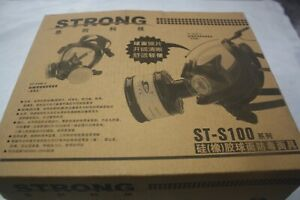 Strong St s100 Quality Chinese Chemical Gas Mask Brand New