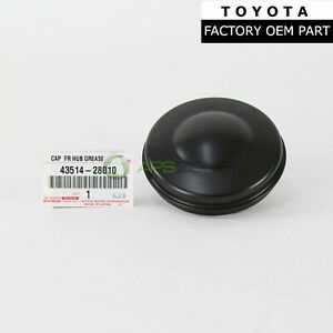 Genuine Toyota Tacoma 4runner Gx460 Gx470 Front Hub Grease Cap Oem 43514 28010