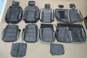 New Takeoff 2018 2019 Original Ford Raptor Black Leather Seat Upholstery Set