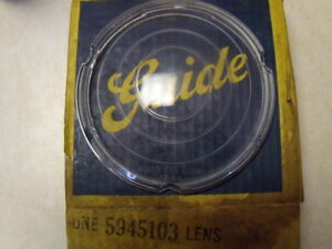 1954 54 Cadillac Nos Vintage Accessory Fog Lamp Lens Gm Guide 5945103