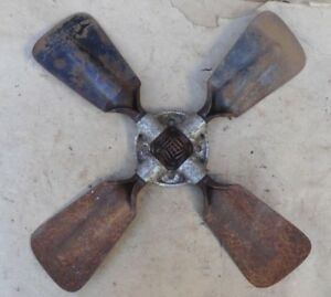 1909 1927 Model T Ford 4 Blade Reversible Fan Original Vintage Accessory