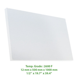 Thermal Insulation Board 2600 F 39 4 X 19 7 X 1 2