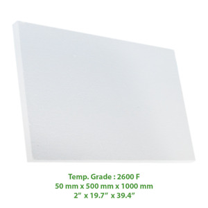 Thermal Insulation Board 2600 F 39 4 X 19 7 X 2