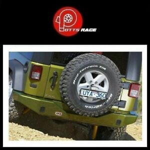 Arb 5650200 Fits 2007 15 Jeep Wrangler Jk Integrated Tow Points Rear Bumper