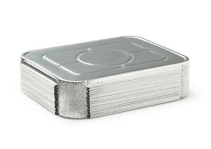 Fig Leaf 60 Pack Lids For Full size Deep Steam Table Pans 21 X 13 X 2