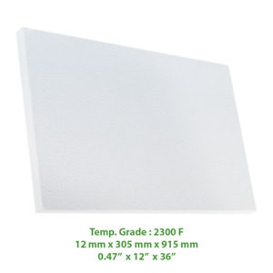 Thermal Insulation Board 2300 F 36 X 12 X 0 47