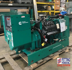 New 60kw Cummins Natural Gas Stationary Standby Generator Gghe S n I160101728