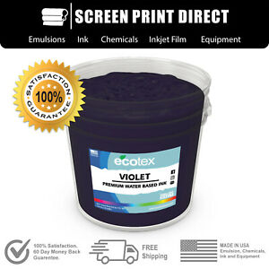 Ecotex Violet Water Based Ready To Use Discharge Ink 5 Gallon