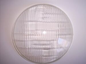Riteway Usa Headlamp Glass Lens Corcoran Brown Headlight Vintage Antique Lamp 89