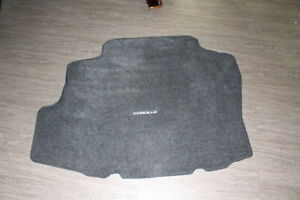 2010 Toyota Corolla Genuine Rear Cargo Trunk Mat Liner Rug Carpet Oem