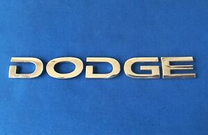 06 07 08 09 10 Dodge Charger Rear Lid Chrome Emblem Letters Logo Badge Sign Oem