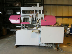 Behringer Dual Column Programmable Horizontal Automatic Band Saw Hbp 313a Video