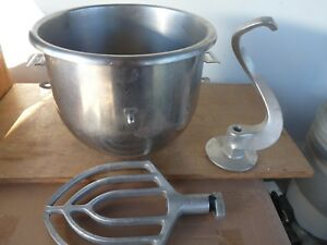 Bowl For Hobart A200 With Hook Flat Beater