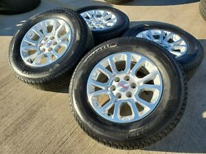 22 Chevy Gmc Silverado 1500 Replica 2018 Oem Black Wheels Rims Tires 2017 4741