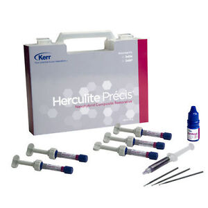 2 X Kerr Herculite Precise Composite Restorative Kit 5 Syr Optibond S 2 Etc