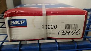 Skf 33220 Tapered Roller Bearing Cone And Cup Set