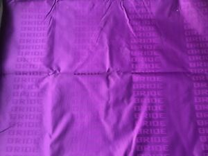 Jdm Purple Bride Fabric Seat Cloth Racing Seats Cover Interior Cloth 2m 1 6m