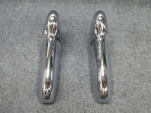 1955 1956 Ford Bumper Guards Refurbished To A Show Car Finish fresh Chrome