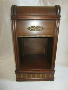 Deco Nightstand Bedside Table With Drawer 1930 S All Original