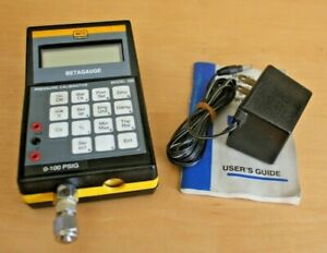 Beta Pressure Calibrator Betagauge Model 320 0 100psig gs2