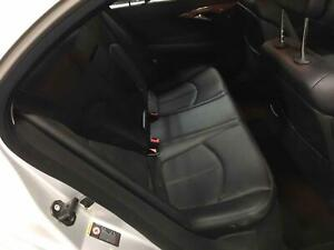 2007 Mercedes benz E350 211 Type Rear Back Seat Black Leather free Shipping