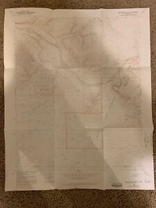 Kin Klizhin Ruins New Mexico Nm Usgs Topographic Map Topo Minute Vintage 1966