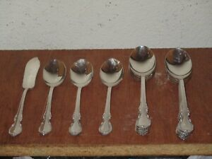 Lot Of 12 Vintage 1847 Rogers Silver Plate