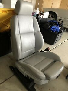 Bmw E36 Coupe Or Conv Dove Gray Heated Leather Passeger Sport Seat 1992 1998