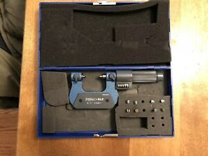 Fowler 0 To 1 range Digital Counter Mechanical Screw Thread Micrometer Fri
