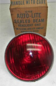 Red Signal Emergency Driving Lamp 5 3 4 Gpw Military Jeep Corcoran Brown Cb 8320