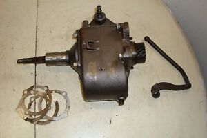 Ford 4000 Tractor Sherman Combination Transmission Step Up step Down