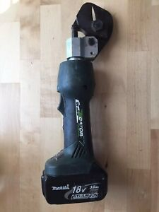 Greenlee Gator Es32l Cable Cutter With Makita 18v Battery