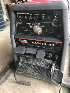 Lincoln Ranger 250 Engine Driven Welder Generator Only 1140 Hours