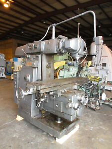 Kearney Trecker Universal Horizontal Milling Machine Model 310 s 15