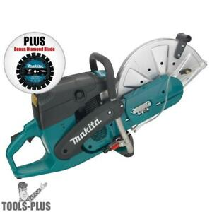 Makita Ek7301x1 14 73cc Power Cutting Gas Saw W diamond Blade Ob