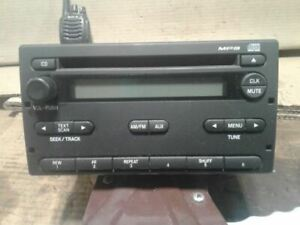 Radio Receiver Single Disc Cd Player 07 11 2007 2011 Ford Ranger 7l5t 18c869 Ac