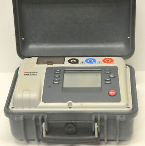 Megger Mit520 2 5kv High Insulation Resistance Tester Mit 520 W Accessories